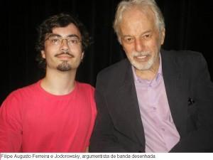 Filipe e Jodorowsky, argumentista de banda desenhada