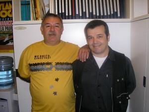 Dorival Vitor Lopes e Claudio Villa