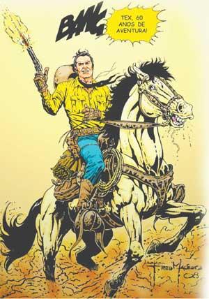 60 anos de Tex por Fred Macêdo