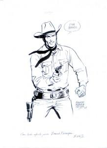 Desenho original de Tex para Jesus Nabor