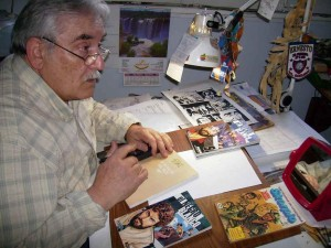 Ernesto Garcia Seijas e o autógrafo