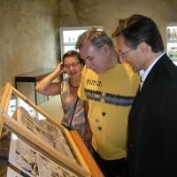 Helenice Ciffone, Dorival Lopes e Fabio Civitelli