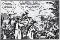 Tex e Carson a cavalo