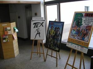 Tex no Salão BD Viseu 2005