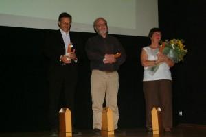 Fabio Civitelli, José Abrantes e Catherine Labey