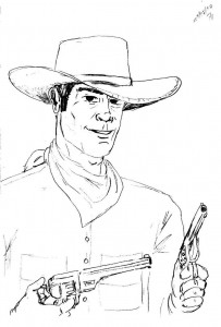 Tex Willer por Rolando Marques