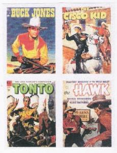 Buck Jones, Cisco Kid, Tonto e The Hawk