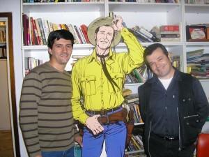 José Carlos Francisco, Tex e Claudio Villa