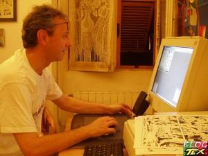 Marco Torricelli no computador