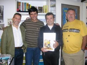 Moreno Burattini, José Carlos Francisco,  Claudio Villa e Dorival