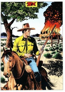 Tex Willer por Claudio Villa
