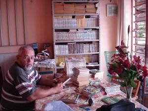 Ary Otávio Canabarro dos Santos e a sua colecção