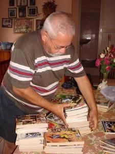 Ary Otávio Canabarro dos Santos e os seus Tex's