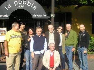 Dorival, José Carlos, Fernanda, Gianni e autores da SBE