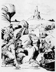 Desenho de Virgilio Muzzi