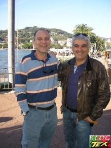 Júlio Schneider e Pasquale Ruju