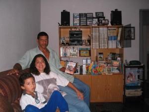 Nei, esposa e filho