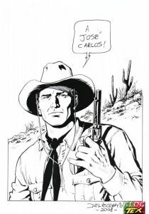 Tex Willer  por Pasquale Del Vecchio