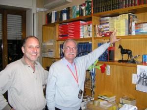 Júlio Schneider e Gianni Petino