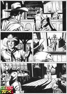 Página de Tex por Stefano Andreucci