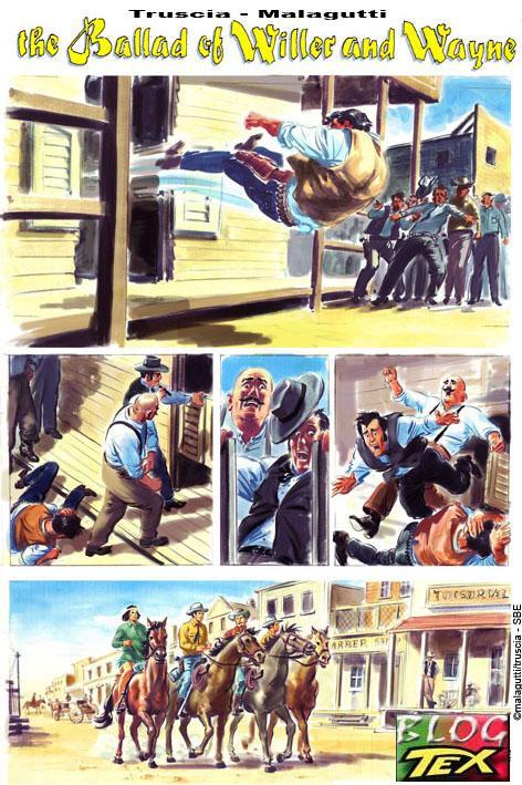 Tex e  John Wayne por Magalutti e M.Truscia - Página 1