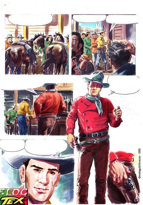 Tex e  John Wayne por Magalutti e M.Truscia - Página 2