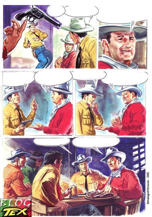 Tex e  John Wayne por Magalutti e M.Truscia - Página 3