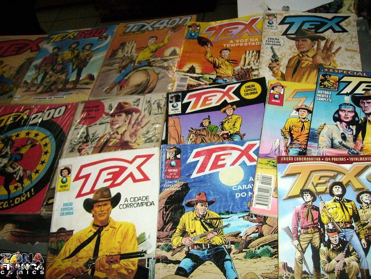 Tex's a cores no Brasil