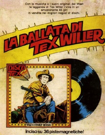 Cartaz promocional de La Ballata Di Tex Willer