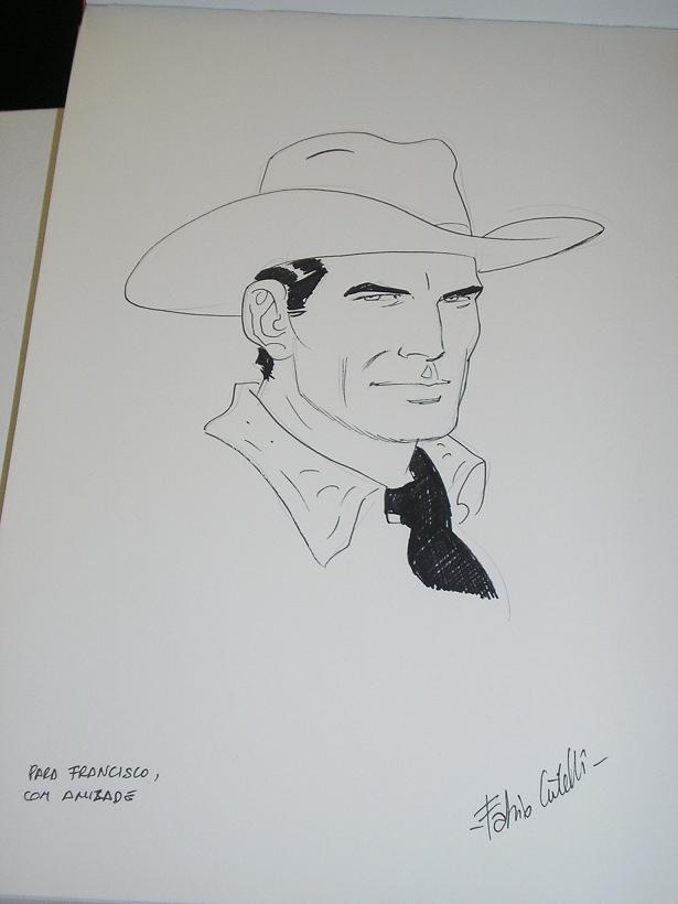 Fabio Civitelli e os desenhos no FIBDA 2008 - V