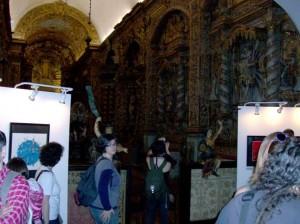 Interior do Convento de Nossa Senhora da Conceição