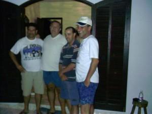 Jesus Nabor, Dorival, Gervásio e Júlio Schneider