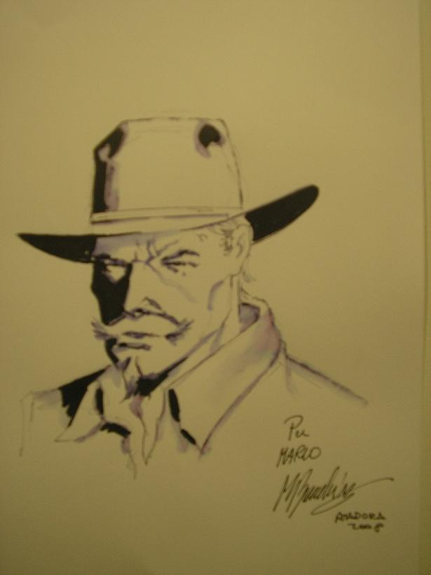 Marco Bianchini e os seus desenhos no FIBDA 2010 - I