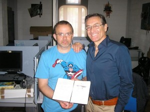 Pedro Cleto e Fabio Civitelli
