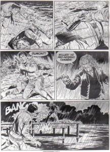 Tex em duelo com Daniel Dumont o pistoleiro das cartas de tarô