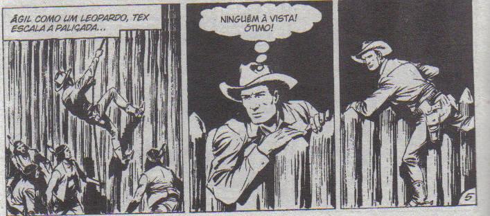 Tex guia seus navajos em ataque ao forte Defiance