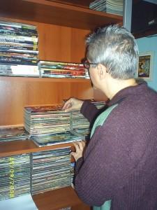 Paulo Ricardo Montenegro e suas revistas de BD