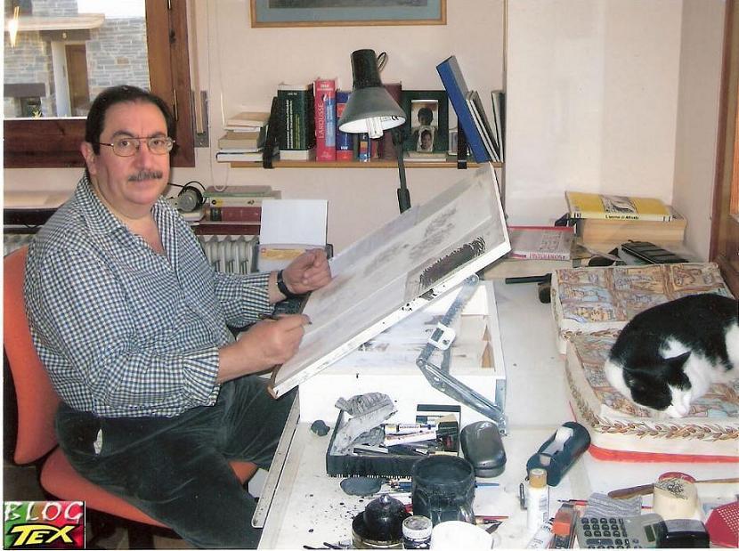 Alfonso Font no Estúdio