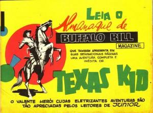Anúncio do Almanaque de Buffalo Bill