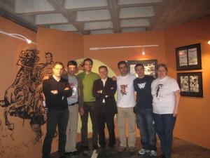 Bianchini, José Carlos, Orlando, Civitelli, Mário, Carlos e Tizziana