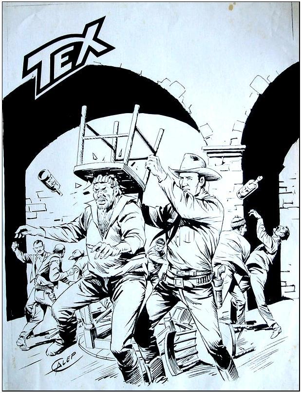 Capa alternativa para Tex nº 305