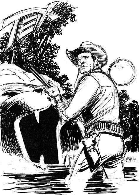 Capa alternativa para Tex nº 443