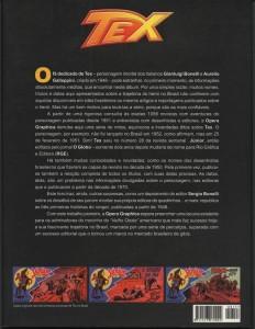Contra-capa do livro comemorativo dos 50 anos de aventuras do Ranger no Brasil