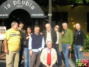 Dorival Lopes, José Carlos Francisco, Fernanda Martins, Gianni Petino, Alfredo Castelli, Moreno Burattini, Gianfranco Manfredi e Michele Masiero