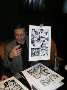 Fabio Civitelli e as suas páginas originais
