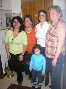 Fernanda Martins, Teresa Moreira, Ana Beatriz, Fátima Francisco e Tizziana Giorgini