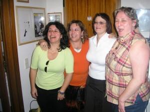 Fernanda Martins, Teresa Moreira, Fátima Francisco e Tizziana Giorgini