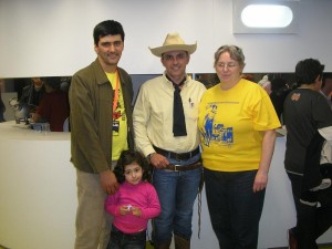 José Carlos Francisco, Ana Beatriz, Tex (Ricardo Leite) e Tizziana Giorgini