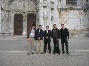 José Carlos Francisco, Mário Marques, Fabio Civitelli, Camilo Prieto e Marco Bianchini