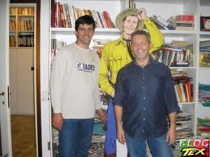 José Carlos Francisco, Tex e Moreno Burattini